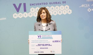 Elena Villamañán, tercer premio Redacción Médica a la Farmacia de Hospital