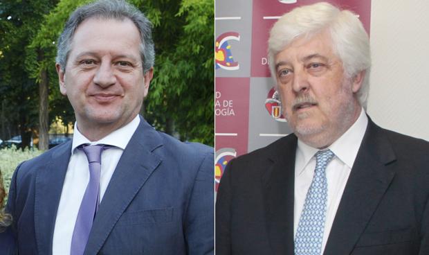 Emilio Casariego y Andrés Íñiguez