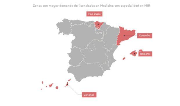 Empleo MIR 2018: los hospitales españoles se rifan estas 4 especialidades