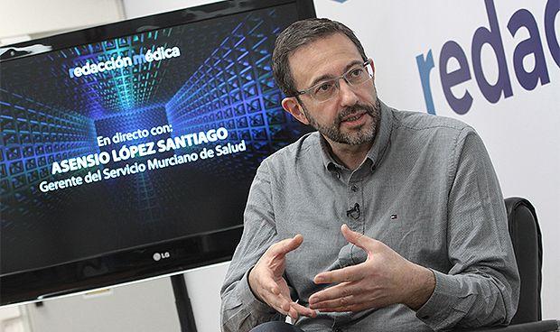 Vea el encuentro digital con Asensio López, gerente del SMS
