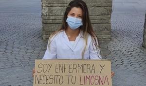 Una enfermera española pide 'limosna' para acabar su tesis