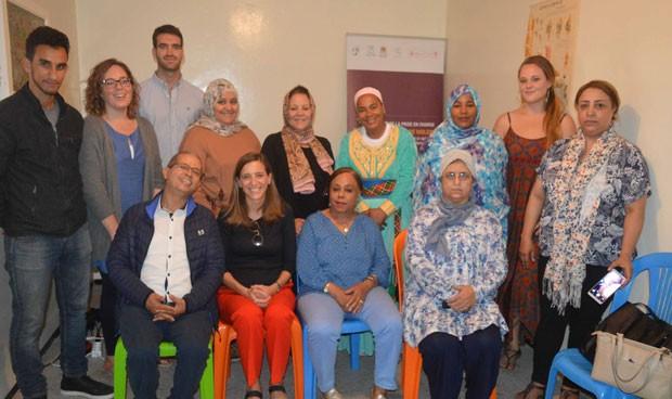 Enfermeras Para el Mundo dota de ordenadores a las mujeres marroquíes
