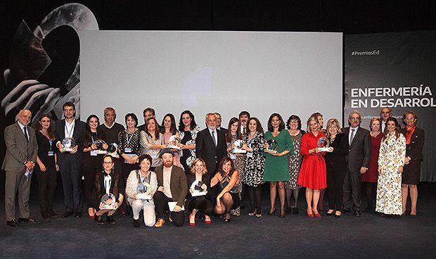 """Enfermería en Desarrollo celebra sus """"Goya"""" a los mejores proyectos del año"""