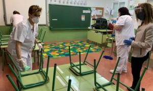 """La Enfermería escolar narra la vuelta al cole con Covid-19: """"Es caótico"""""""