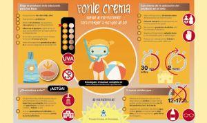 Enfermería lanza 'Ponle crema', 25 consejos para promover la fotoprotección