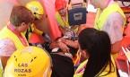 Enfermería recrea un atentado con droga caníbal, armas y caos en el tráfico