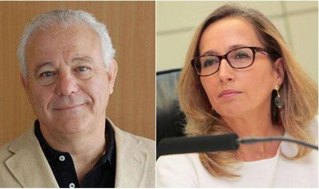 Enrique Ortega y María Vila