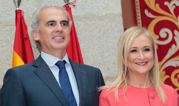 Enrique Ruiz Escudero y Cristina Cifuentes