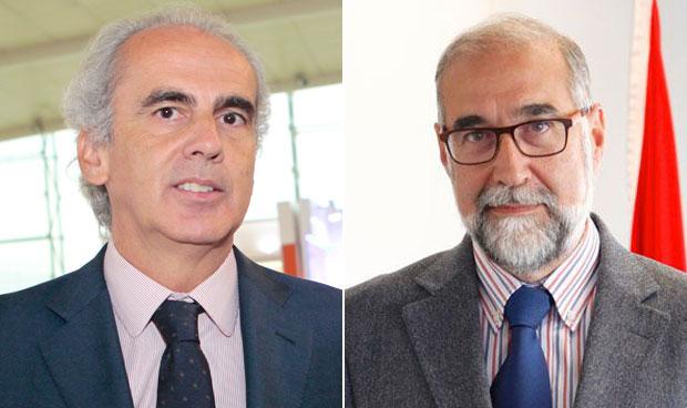 Enrique Ruiz Escudero y Fernando Domínguez