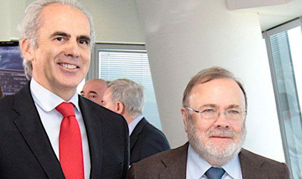 Enrique Ruiz Escudero y Rafael Pérez Santamarina