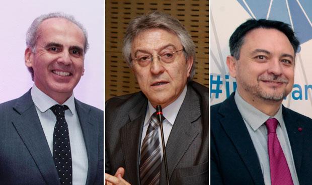 Enrique Ruiz, Exuperio Díez y David Pérez