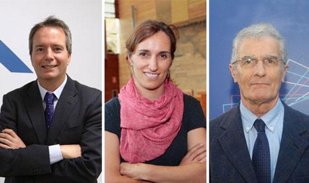 Enrique Veloso, Mónica García y José Manuel Freire