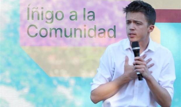 Errejón promete derogar el Área Única Sanitaria en la Comunidad de Madrid