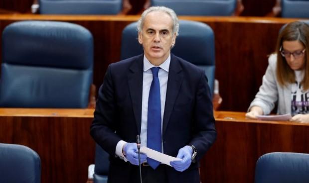 """Escudero defiende su gestión: """"Madrid no ha desmantelado su Primaria"""""""