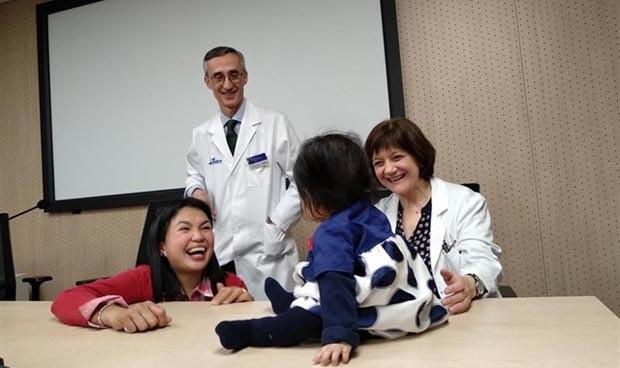 España detiene la atrofia muscular espinal infantil antes de los síntomas