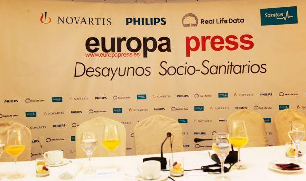 Europa Press no es la protagonista, sino sus invitados sanitarios