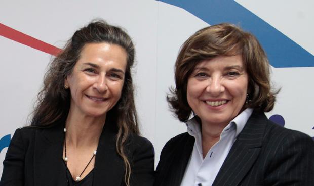 Eva Baró y Cristina Granados