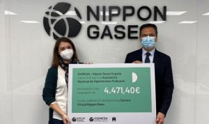 Éxito de la primera Virtual Race Nippon Gases por la hipertensión pulmonar