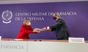 Farmacéuticos y Defensa colaborarán en investigaciones sanitarias