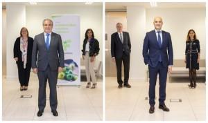 Así son las candidaturas de Aguilar y Marco a liderar la Farmacia española