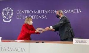 """La Farmacia Militar y el Cgcof aúnan fuerzas por """"una misma vocación"""""""