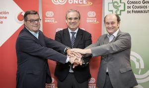 Farmacia, ONCE y Vodafone renuevan su compromiso con los discapacitados