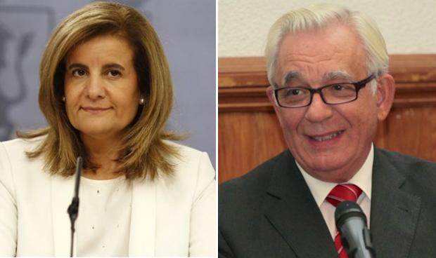 Fátima Báñez y Jesús Sánchez Martos