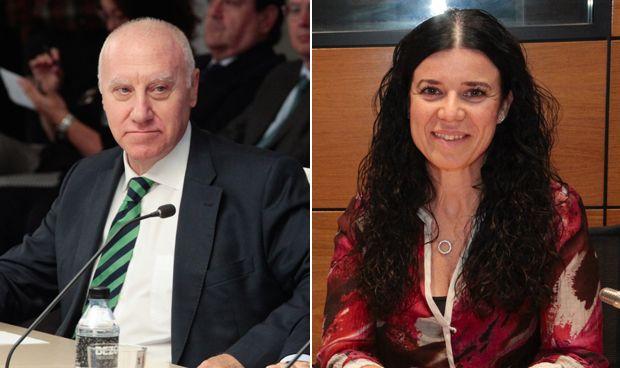 Faustino Blanco y Patricia Lacruz