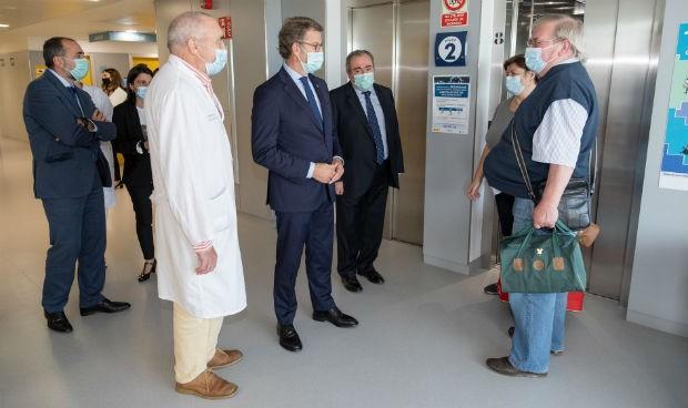 Feijóo anuncia la inversión de 15 millones en el Hospital de Burela