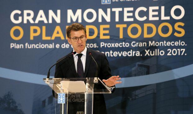 Feijóo presenta en Pontevedra el plan funcional del 'Gran Montecelo'