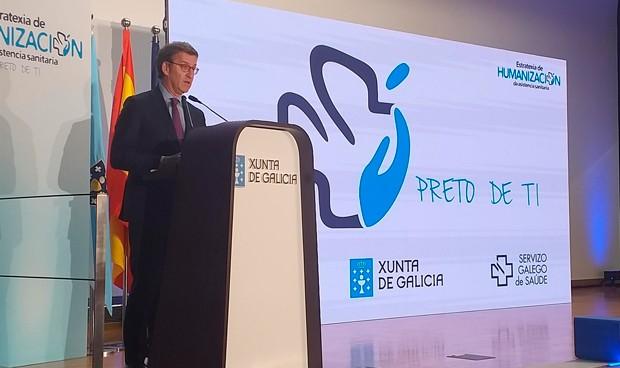 Feijóo presenta la Estrategia de Humanización de la sanidad gallega