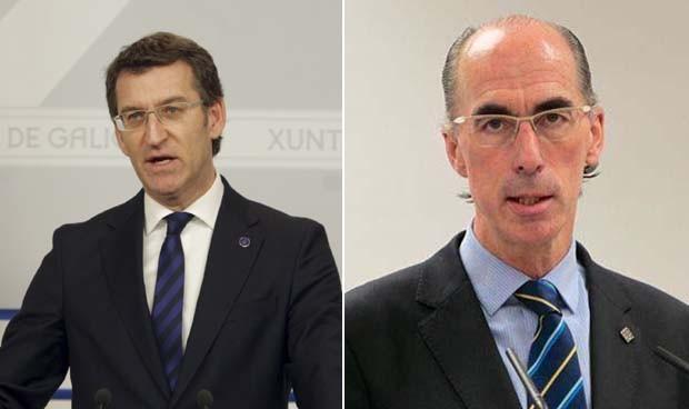 Feijóo respalda la gestión de Almuiña al frente de la sanidad gallega