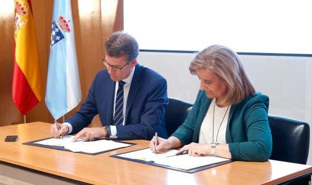 Feijóo y Báñez acuerdan crear el primer centro de salud integral de Galicia