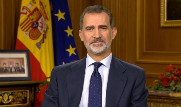 Mensaje de agradecimiento del rey a la sanidad española