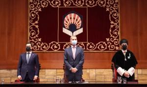 """Felipe VI pide prepararse """"más y mejor"""" para los nuevos desafíos sanitarios"""