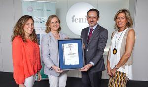 Fenin recibe el Certificado del Sistema de Gestión de Calidad de Aenor