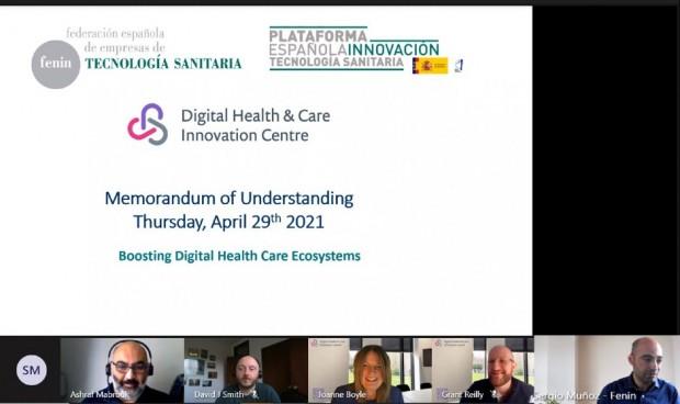 Fenin se une a la escocesa DHI para crear un ecosistema sanitario digital