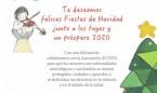 Fenin y la Asociación Actays felicitan la Navidad de forma solidaria