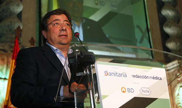 """Fernández Vara: """"En sanidad hay que invertir constantemente"""""""