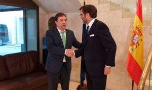 Fernández Vara reclama fondos a Europa para infraestructuras sanitarias
