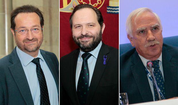 Fernando Prados, Diego Sanjuanbenito y Antonio Alemany