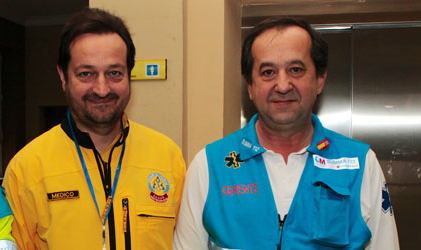 Fernando Prados y Pablo Busca
