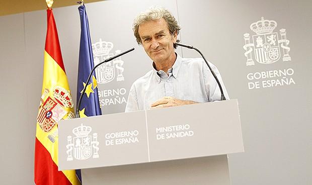 Fernando Simón, director del Ccaes y 'profesor' de estadística