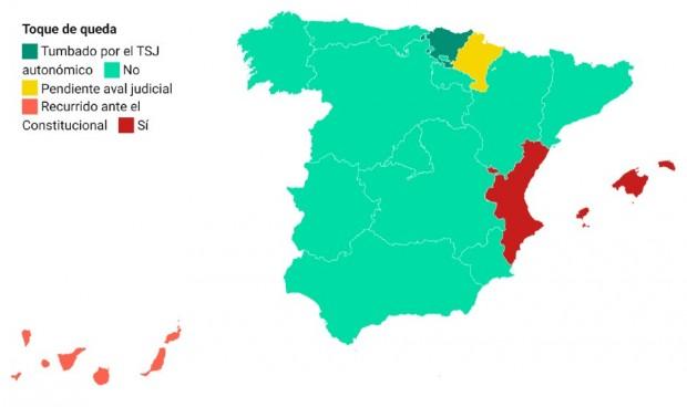 Fin del estado de alarma: restricciones en cada región con dudas jurídicas