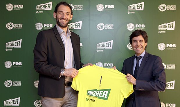 Finisher, proveedor de la Selección Española de Baloncesto y de la FEB