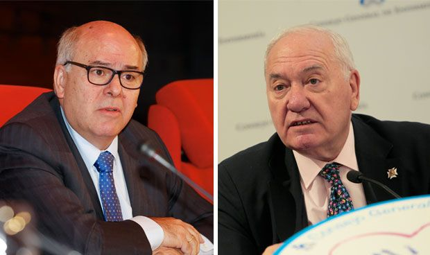 Florentino Pérez Raya y Ángel Fernández
