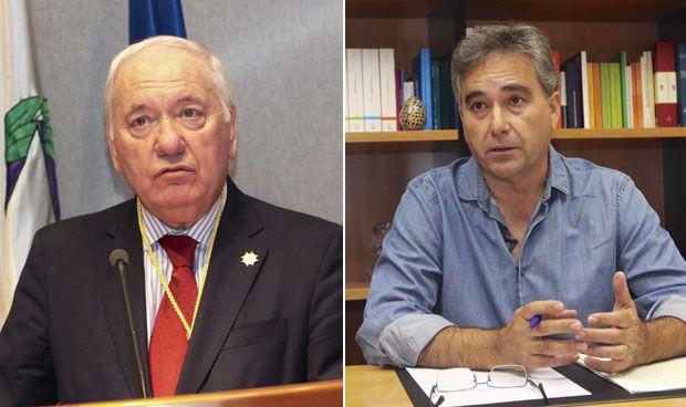 Florentino Pérez Raya y Manuel Cascos