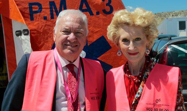Florentino Pérez Raya y Pilar Fernández
