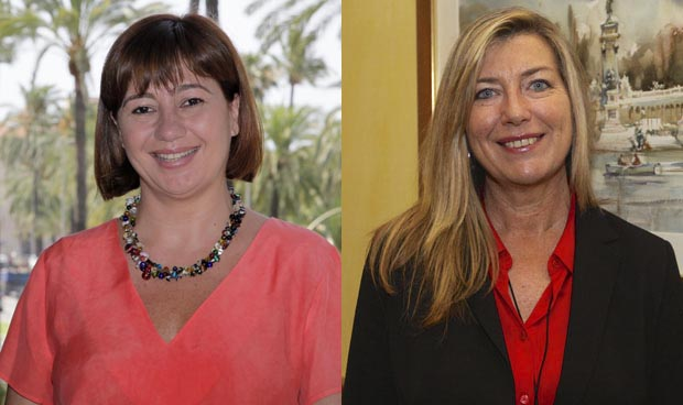 Francina Armengol y Patricia Gómez