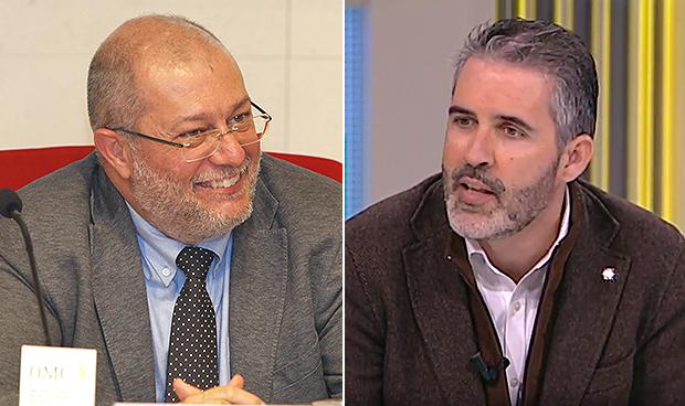 Francisco Igea y Jorge Soler